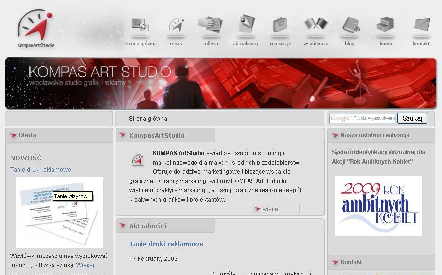 Strona główna www.KompasArtStudio.pl