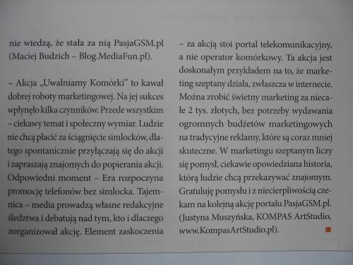 Komentarz do Akcji UwalniamyKomorki.pl