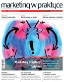 Okładka czasopisma Marketing w Praktyce