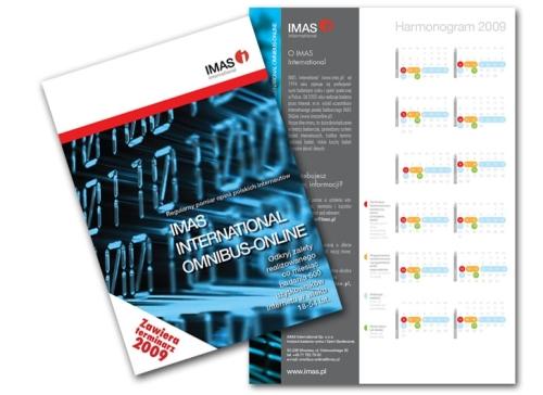 Folder produktowy dla IMAS International