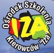 Logo Ośrodka Szkolenia Kierowców IZA