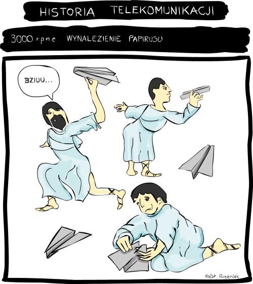 Wynalezienie papirusu