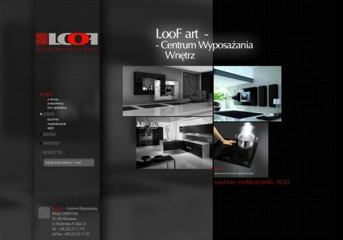 Strona główna firmy LooF Art