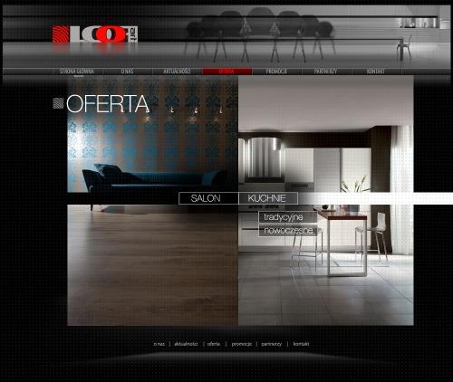 Strona internetowa dla LooF Art _ zakładka Oferta
