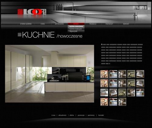 Strona internetowa LooF Art _ Oferta _ Kuchnie nowoczesne